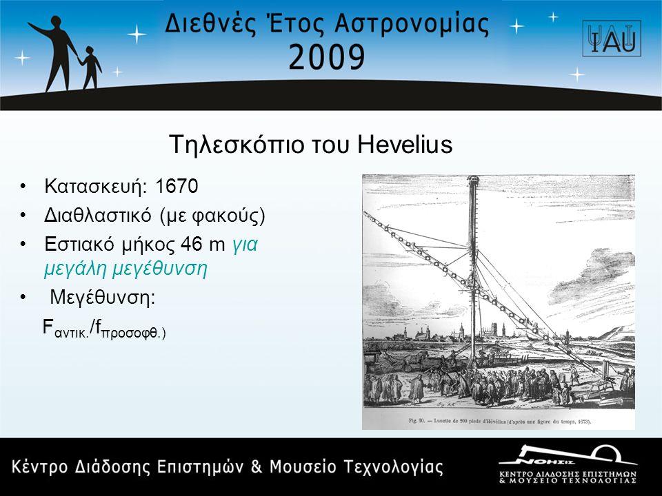 Τηλεσκόπιο του Hevelius