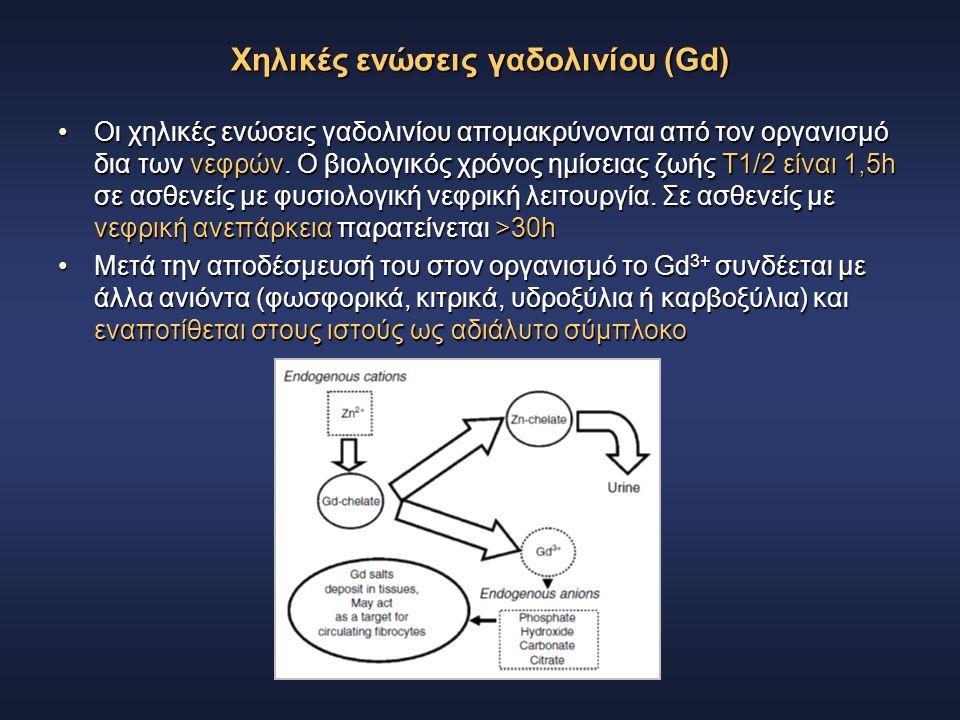 Χηλικές ενώσεις γαδολινίου (Gd)