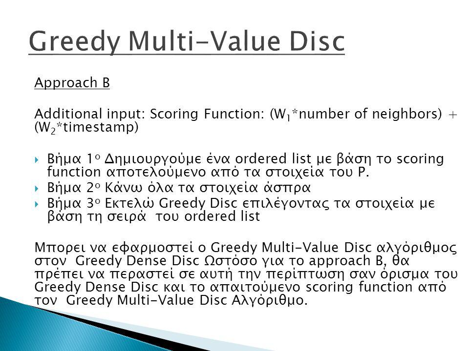 Greedy Multi-Value Disc