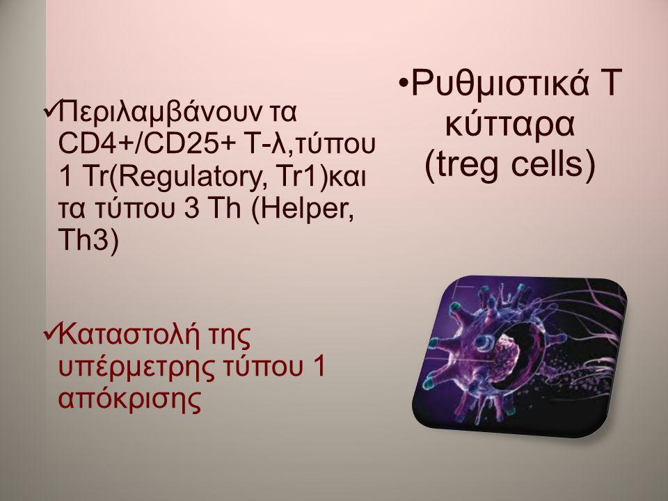 Ρυθμιστικά Τ κύτταρα (treg cells)