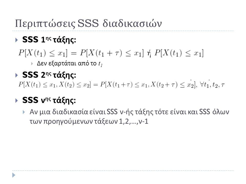 Περιπτώσεις SSS διαδικασιών