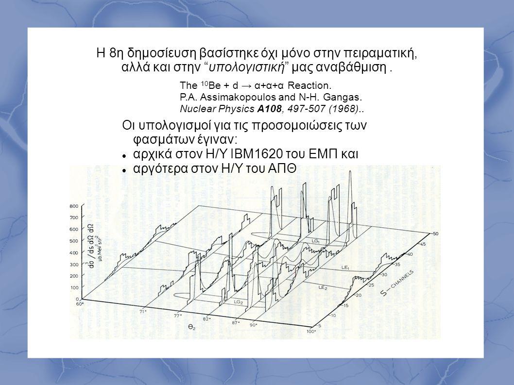 Οι υπολογισμοί για τις προσομοιώσεις των φασμάτων έγιναν: