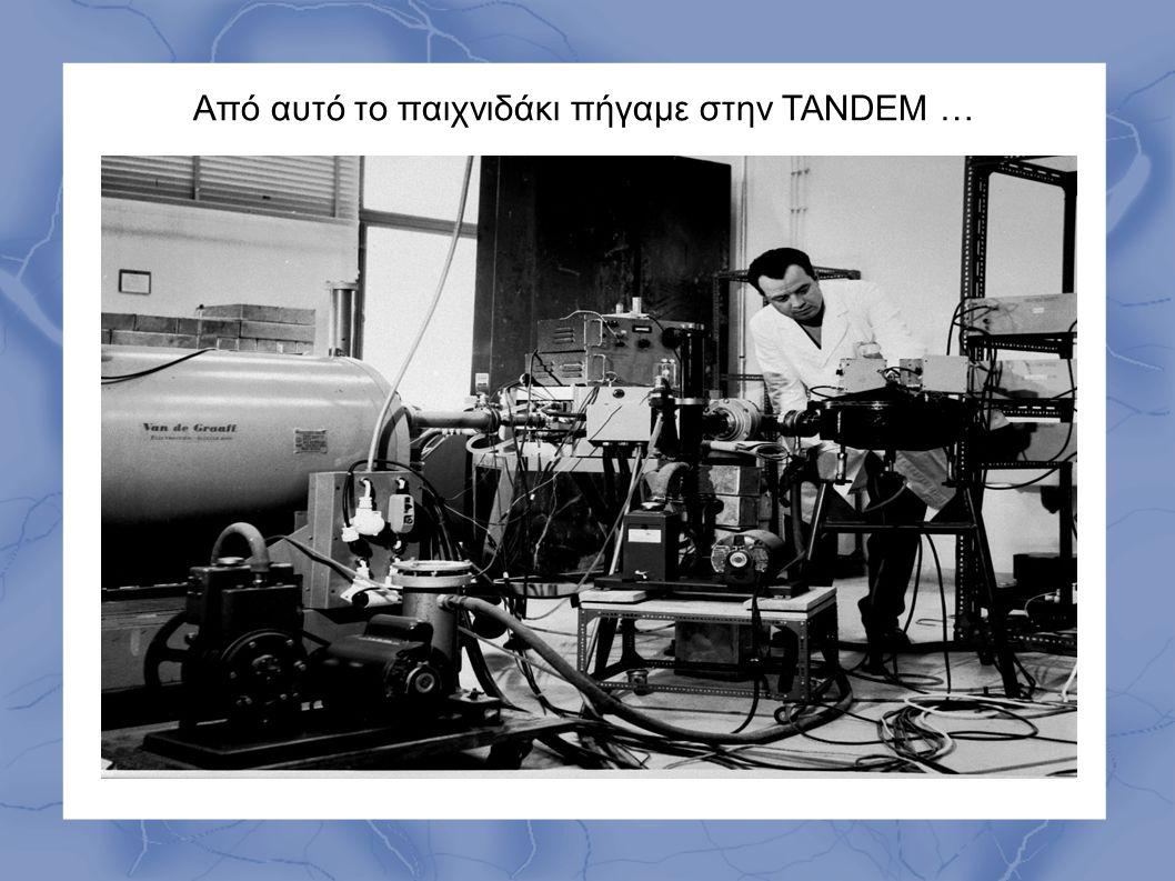 Από αυτό το παιχνιδάκι πήγαμε στην TANDEM …