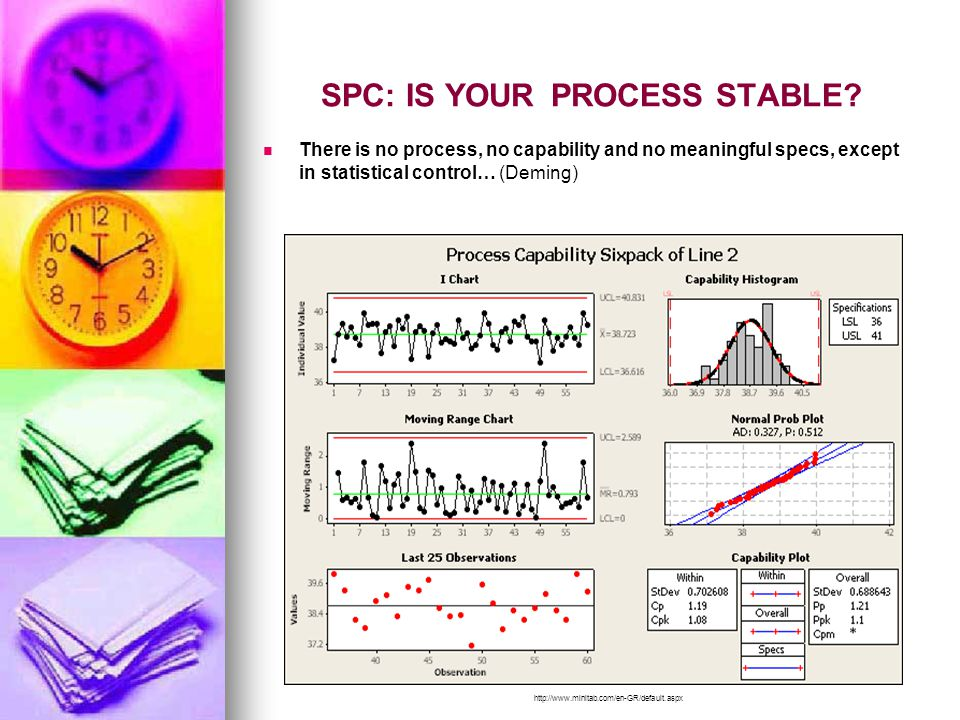 SPC: IS YOUR PROCESS STABLE