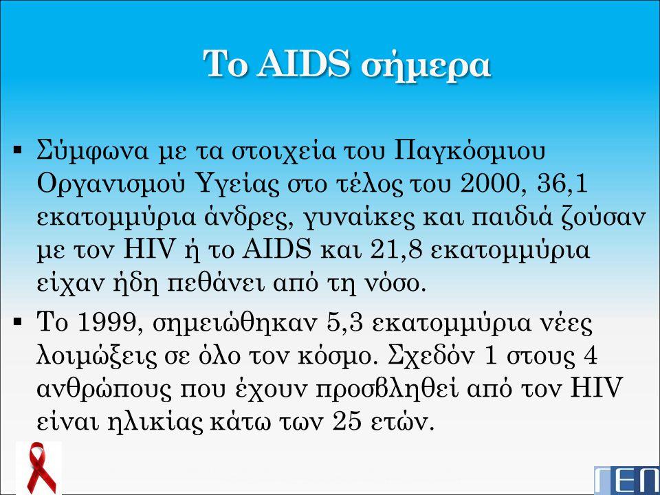 Το AIDS σήμερα