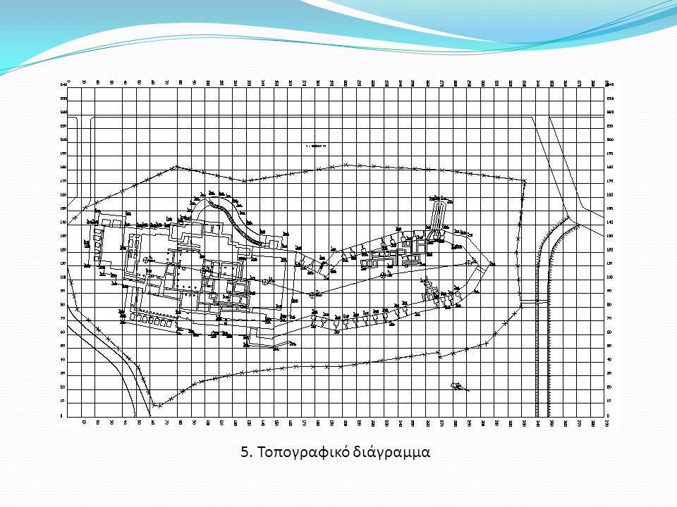 5. Τοπογραφικό διάγραμμα