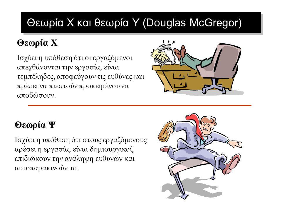 Θεωρία X και θεωρία Y (Douglas McGregor)