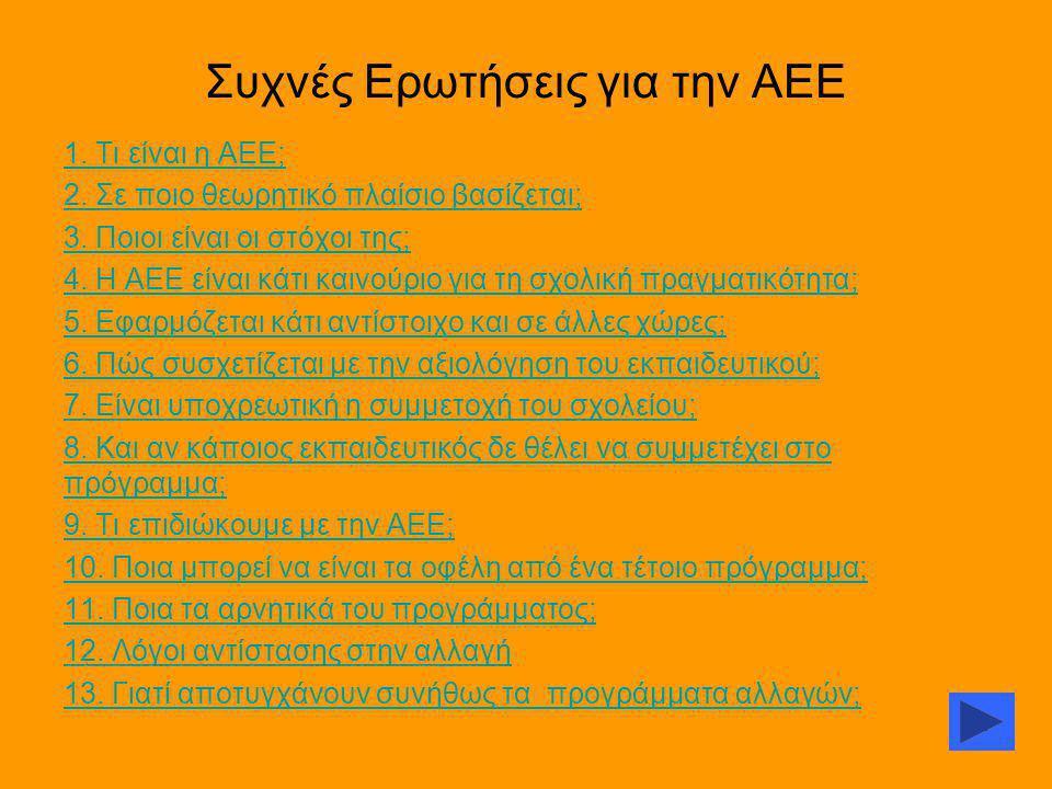 Συχνές Ερωτήσεις για την ΑΕΕ