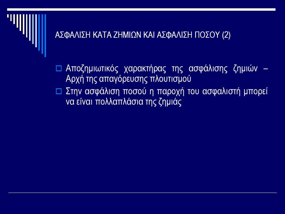 ΑΣΦΑΛΙΣΗ ΚΑΤΑ ΖΗΜΙΩΝ ΚΑΙ ΑΣΦΑΛΙΣΗ ΠΟΣΟΥ (2)