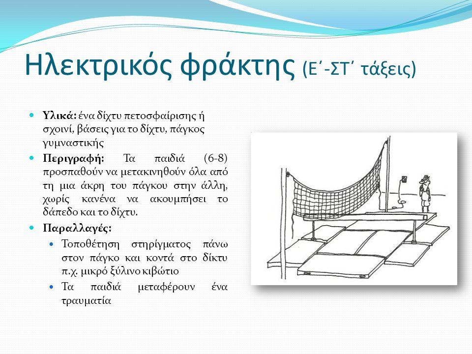 Ηλεκτρικός φράκτης (Ε΄-ΣΤ΄ τάξεις)