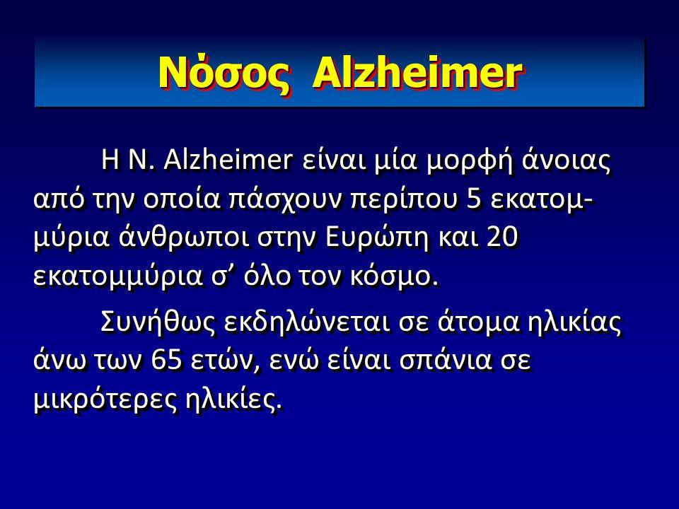 Nόσος Alzheimer