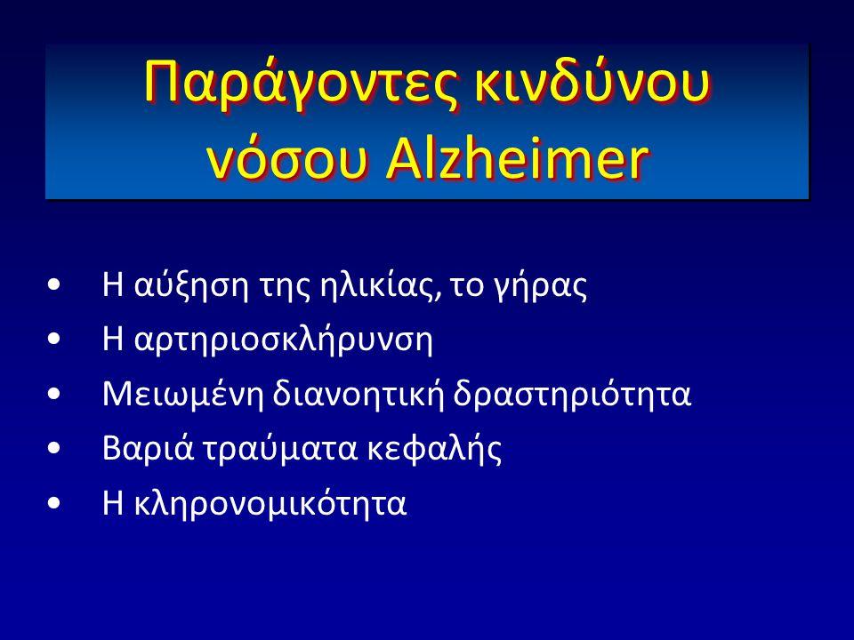 Παράγοντες κινδύνου vόσου Αlzheimer