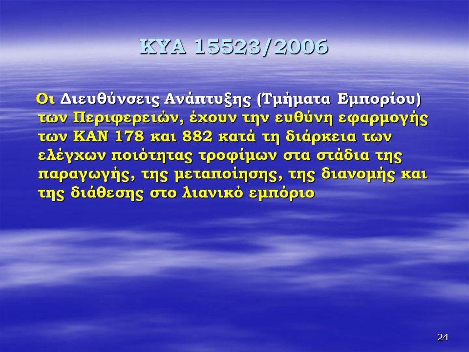 KYA 15523/2006