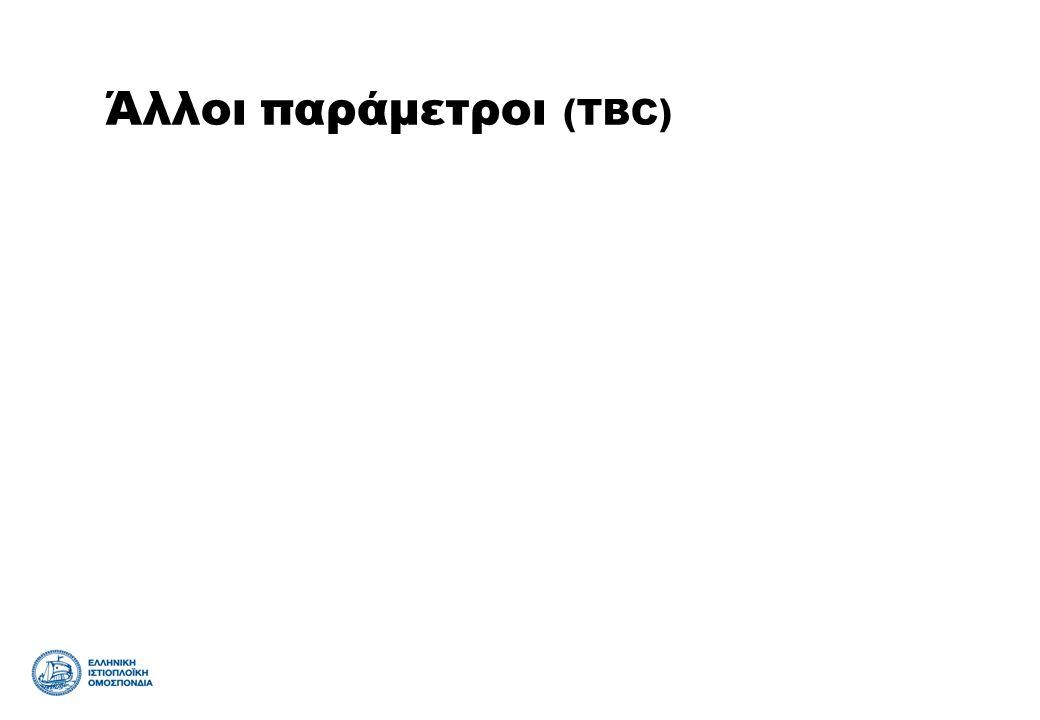 Άλλοι παράμετροι (TBC)