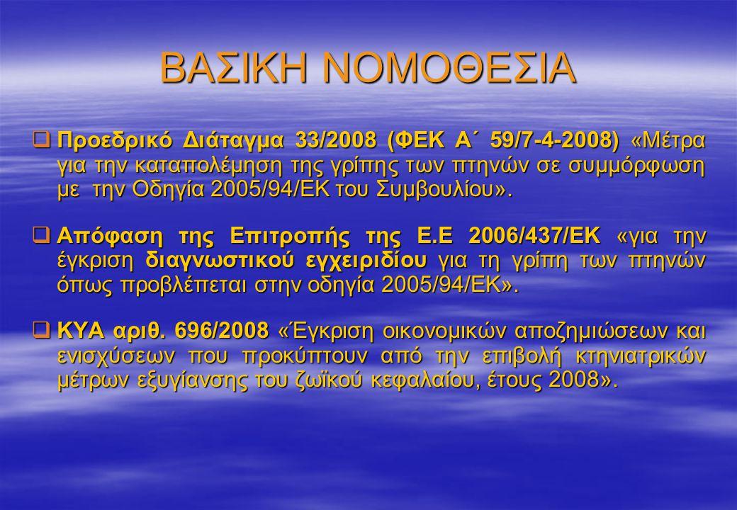 ΒΑΣΙΚΗ ΝΟΜΟΘΕΣΙΑ