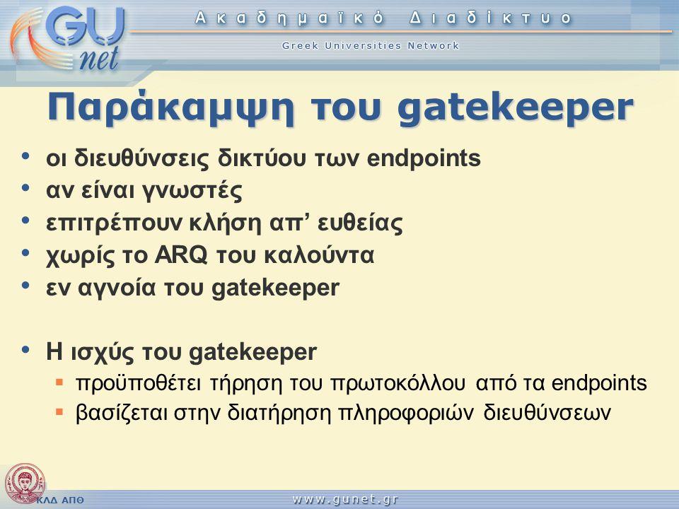 Παράκαμψη του gatekeeper