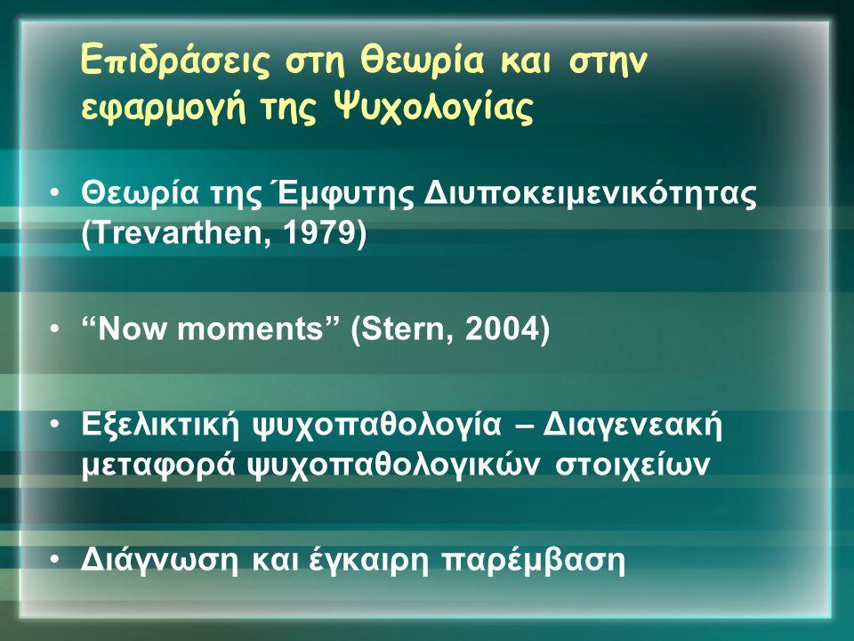 Επιδράσεις στη θεωρία και στην εφαρμογή της Ψυχολογίας