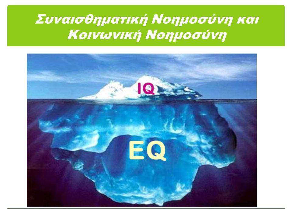 Συναισθηματική Νοημοσύνη και Κοινωνική Νοημοσύνη