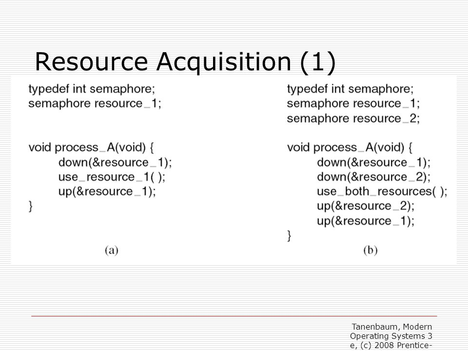 Resource Acquisition (1)