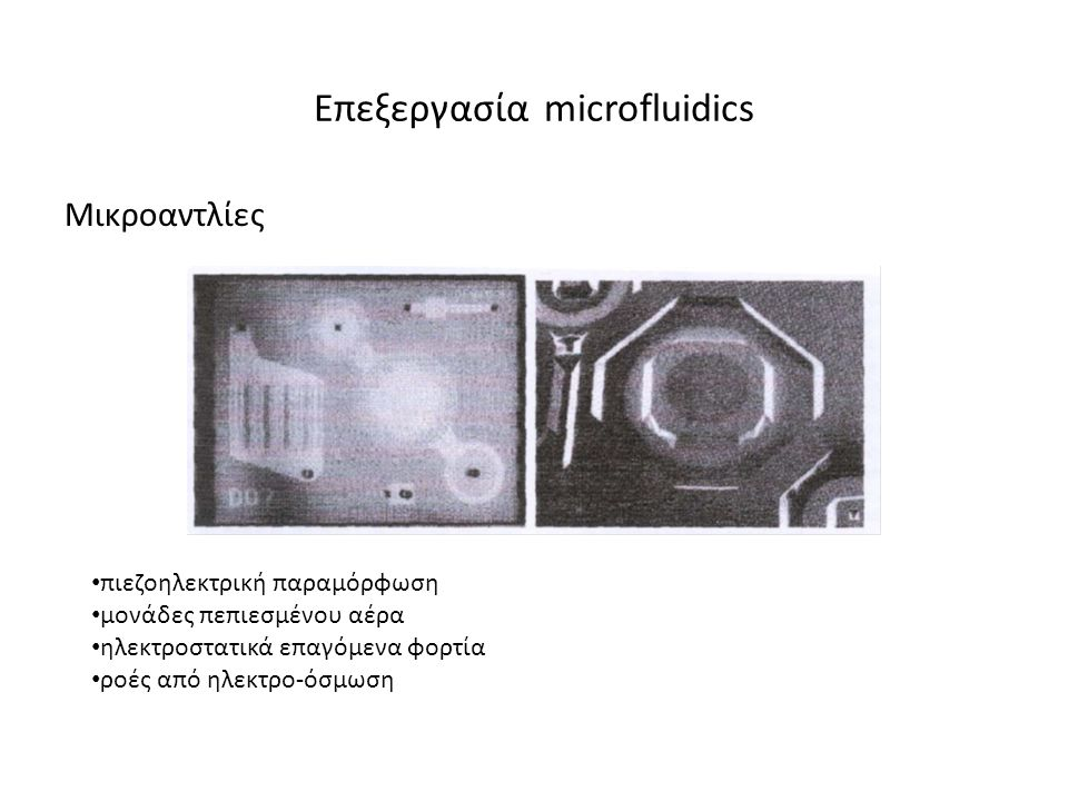 Επεξεργασία microfluidics