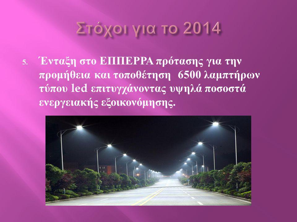 Στόχοι για το 2014