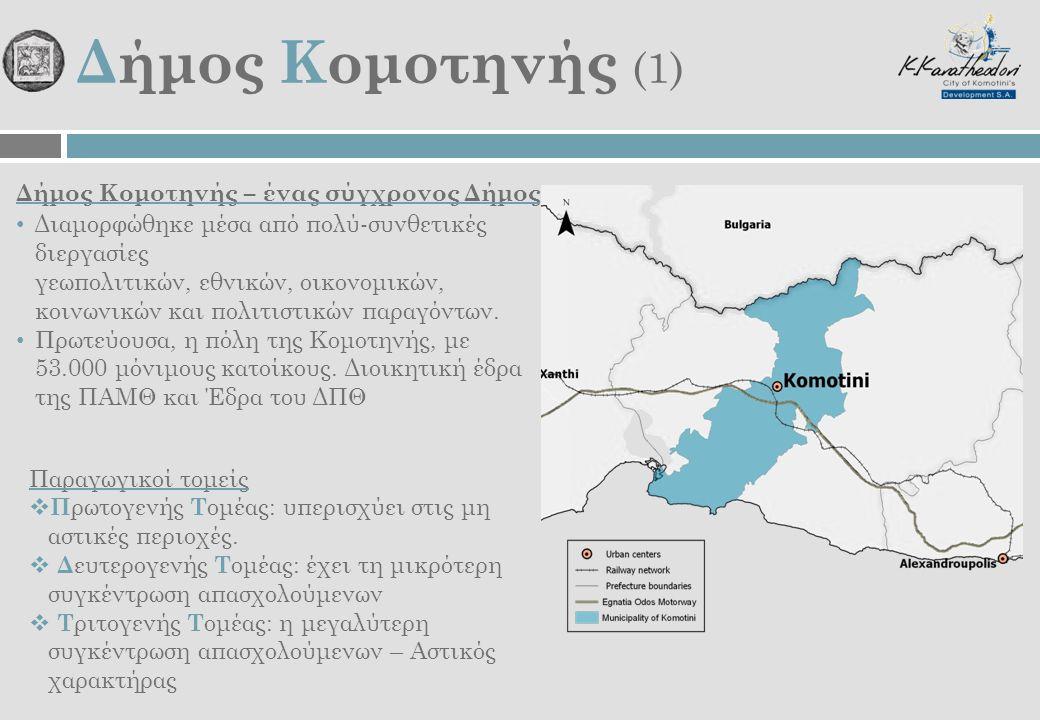 Δήμος Κομοτηνής (1) Δήμος Κομοτηνής – ένας σύγχρονος Δήμος