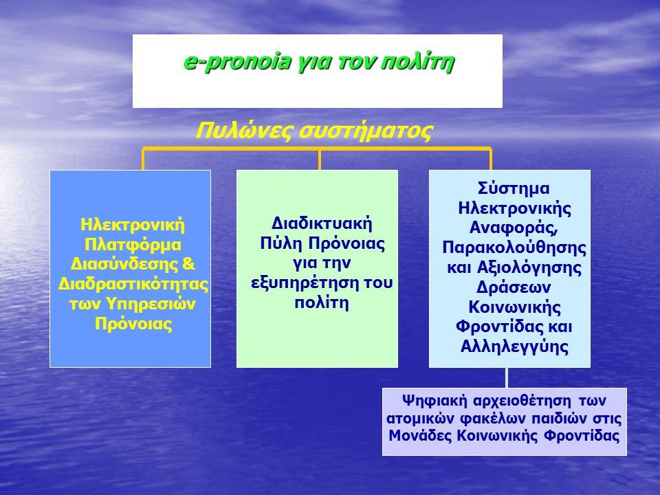 e-pronoia για τον πολίτη