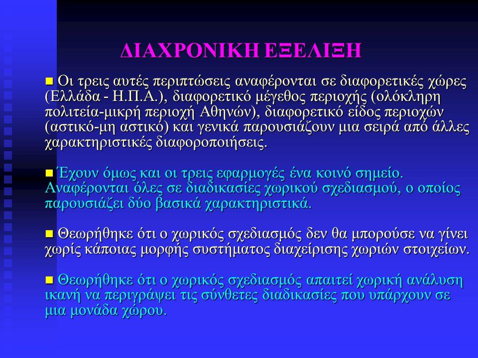 ΔΙΑΧΡΟΝΙΚΗ ΕΞΕΛΙΞΗ