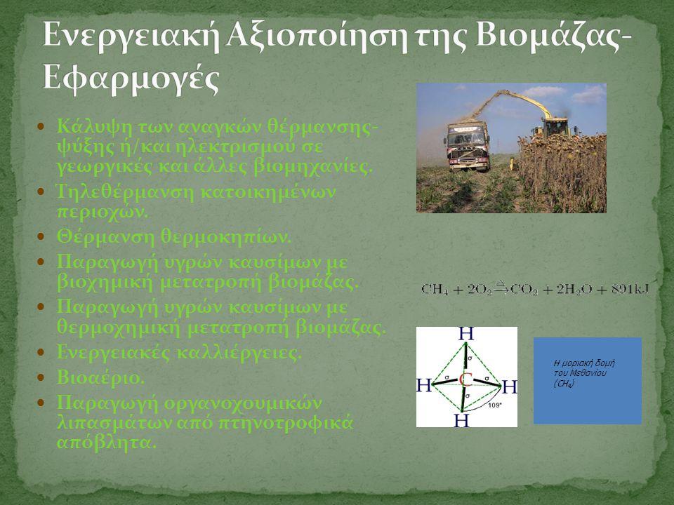 Ενεργειακή Αξιοποίηση της Βιομάζας-Εφαρμογές