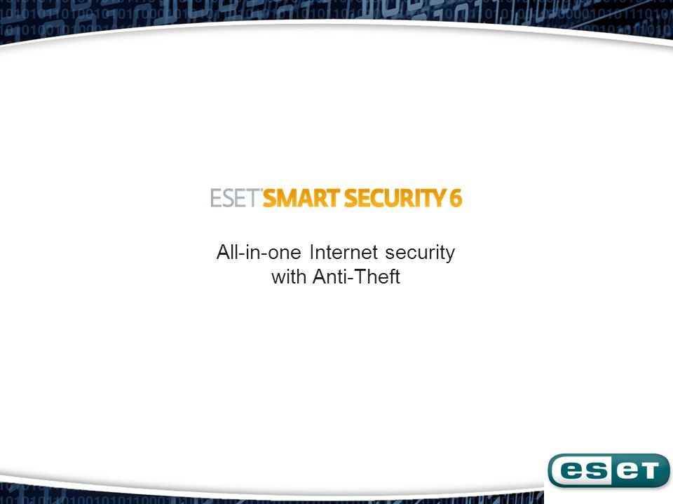 All-in-one Internet security with Anti-Theft