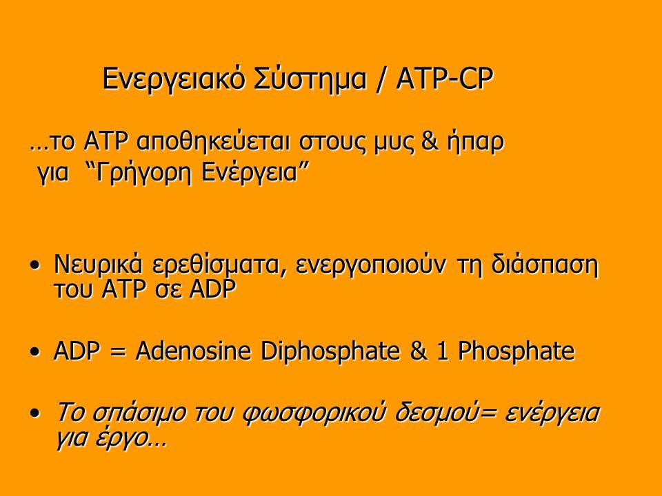 Ενεργειακό Σύστημα / ATP-CP