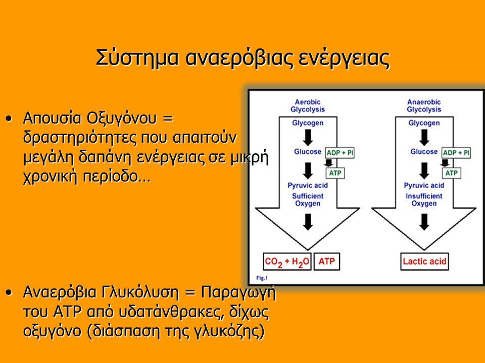 Σύστημα αναερόβιας ενέργειας