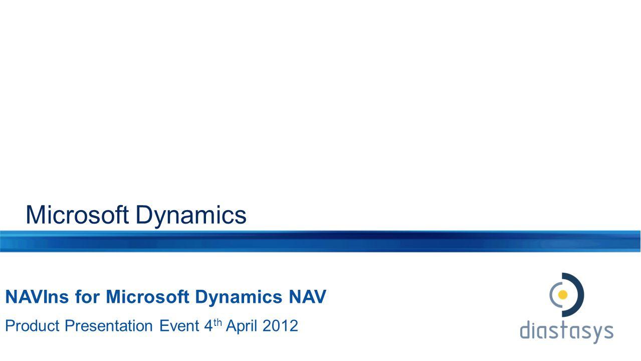 Microsoft Dynamics NAVIns for Microsoft Dynamics NAV