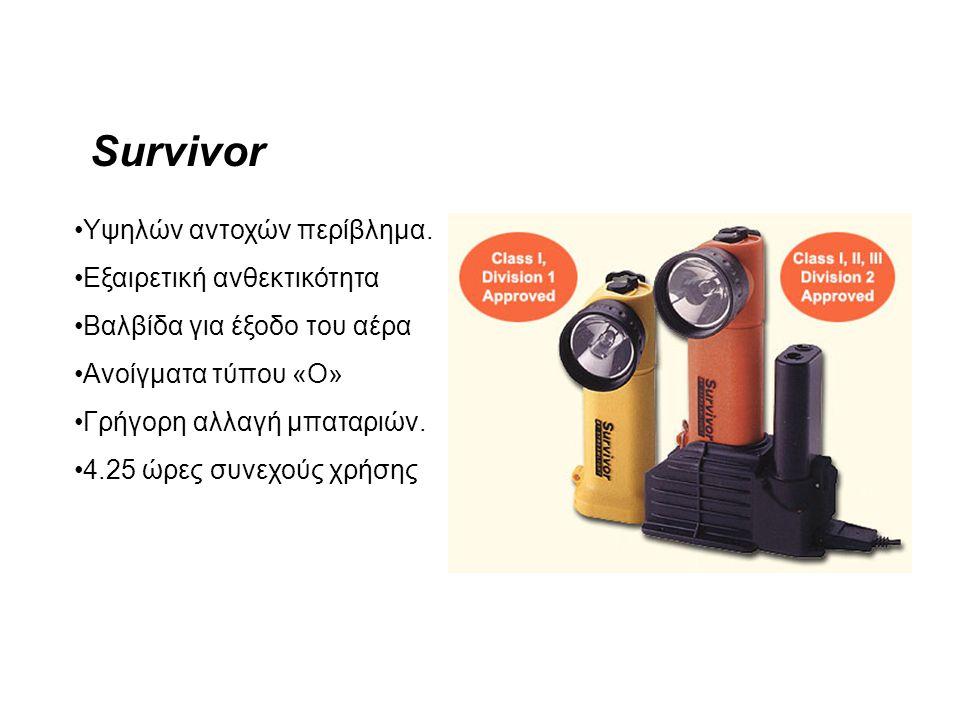 Survivor Υψηλών αντοχών περίβλημα. Εξαιρετική ανθεκτικότητα