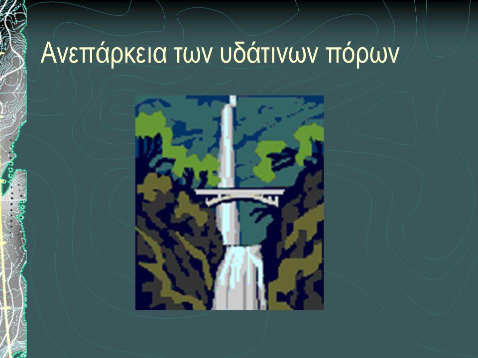 Ανεπάρκεια των υδάτινων πόρων