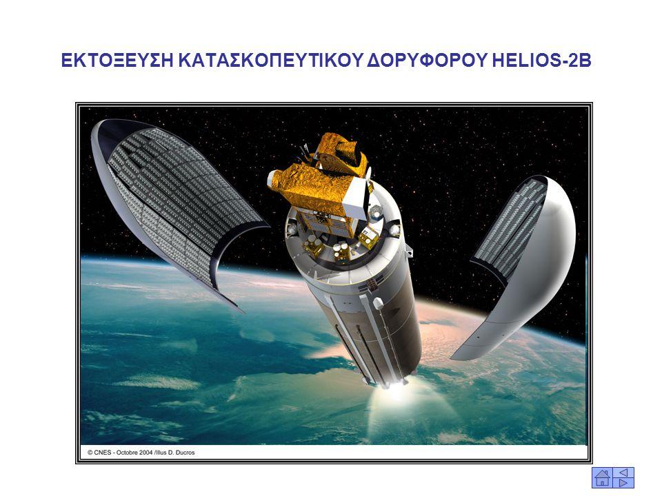 ΕΚΤΟΞΕΥΣΗ ΚΑΤΑΣΚΟΠΕΥΤΙΚΟΥ ΔΟΡΥΦΟΡΟΥ HELIOS-2B