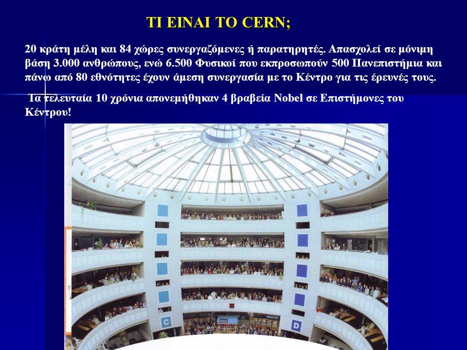ΤΙ ΕΙΝΑΙ ΤΟ CERN;