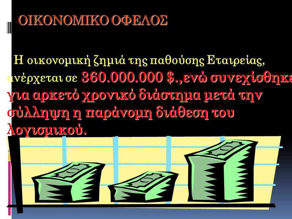 ΟΙΚΟΝΟΜΙΚΟ ΟΦΕΛΟΣ