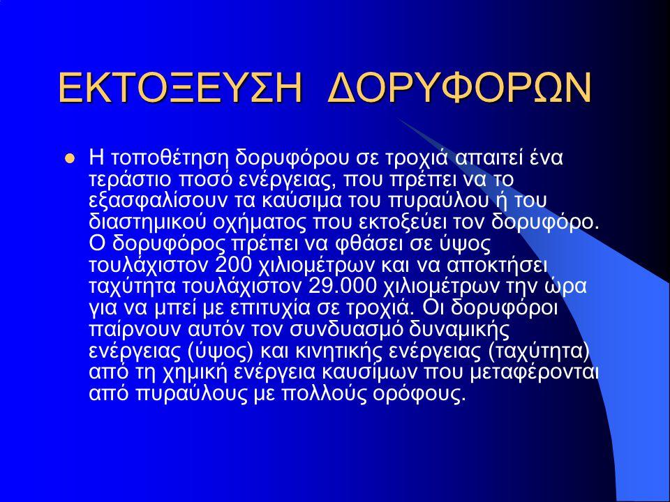 ΕΚΤΟΞΕΥΣΗ ΔΟΡΥΦΟΡΩΝ