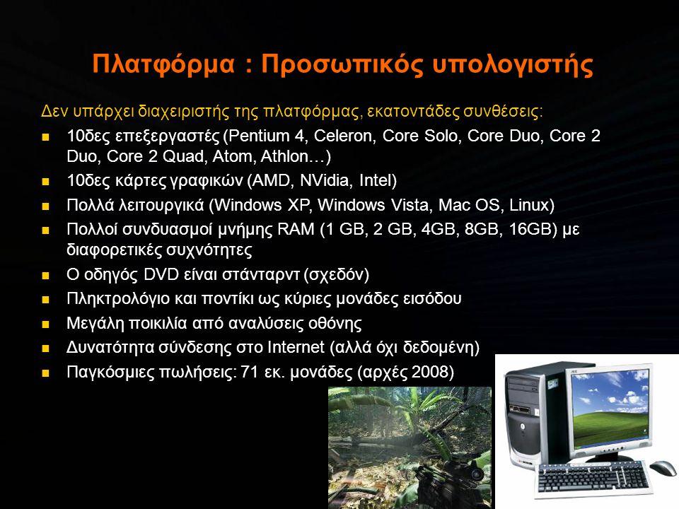 Πλατφόρμα : Προσωπικός υπολογιστής