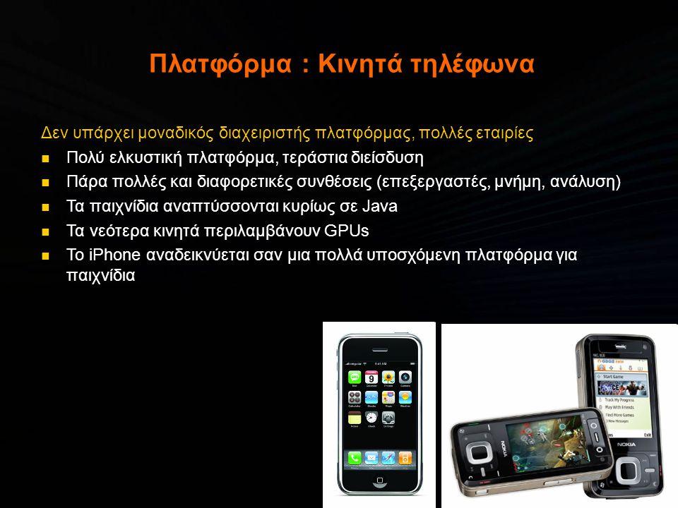 Πλατφόρμα : Κινητά τηλέφωνα