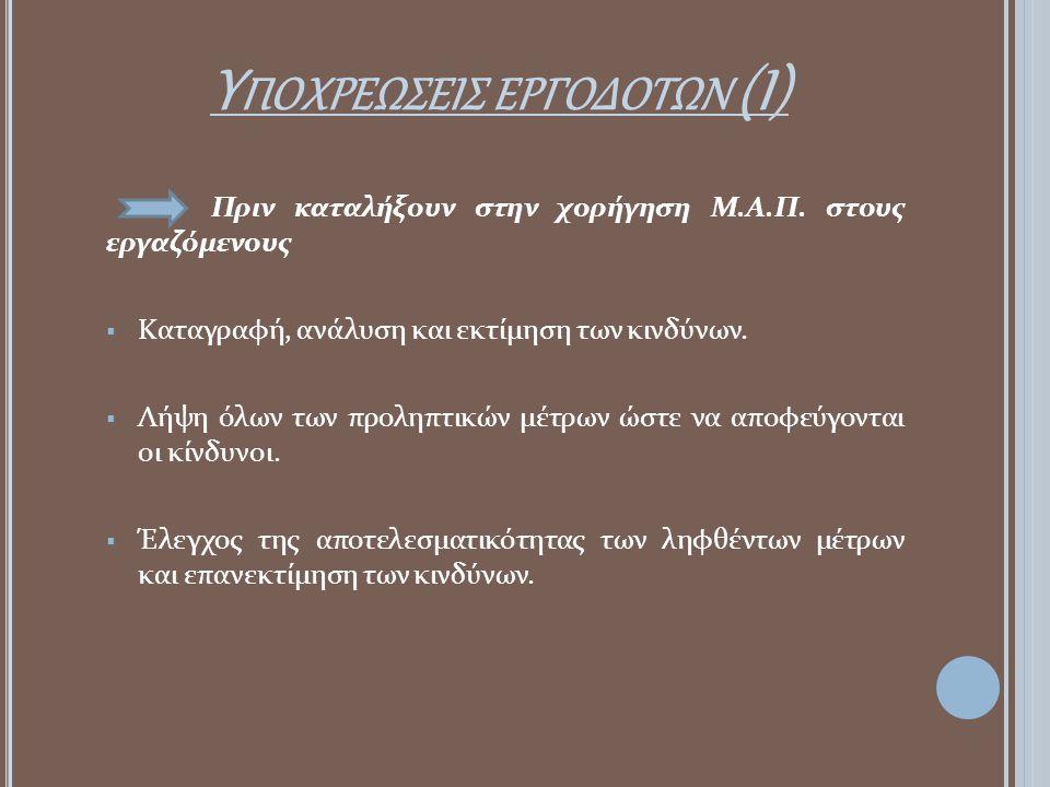 Υποχρεωσεισ εργοδοτων (Ι)