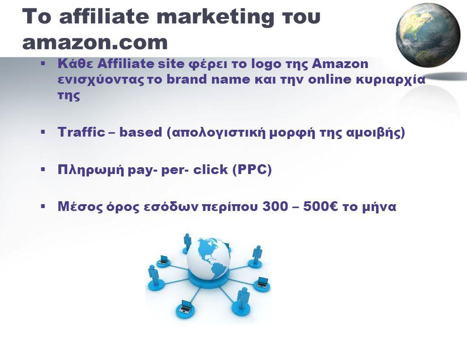 Το affiliate marketing του amazon.com