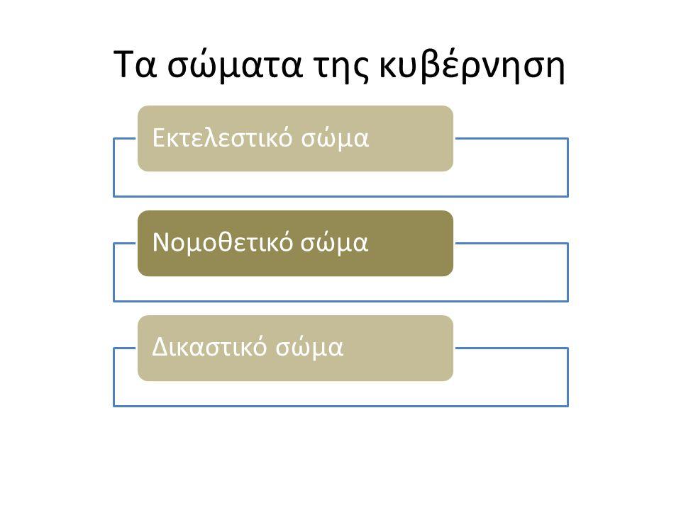 Τα σώματα της κυβέρνηση