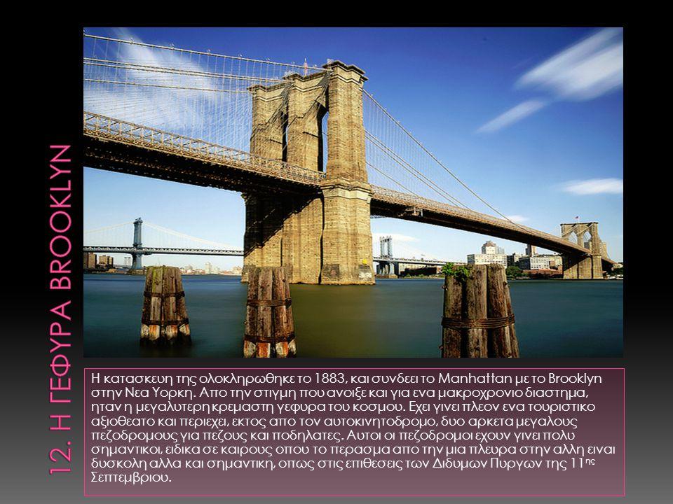 12. Η γεφυρα BROOKLYN