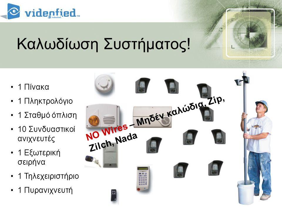 Καλωδίωση Συστήματος! NO Wires – Μηδέν καλώδια, Zip, Zilch, Nada