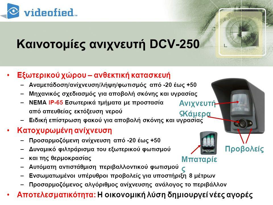 Καινοτομίες ανιχνευτή DCV-250