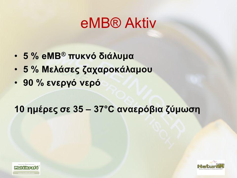 eMB® Aktiv 5 % eMB® πυκνό διάλυμα 5 % Μελάσες ζαχαροκάλαμου