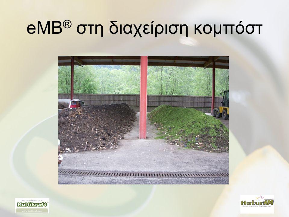 eMB® στη διαχείριση κομπόστ