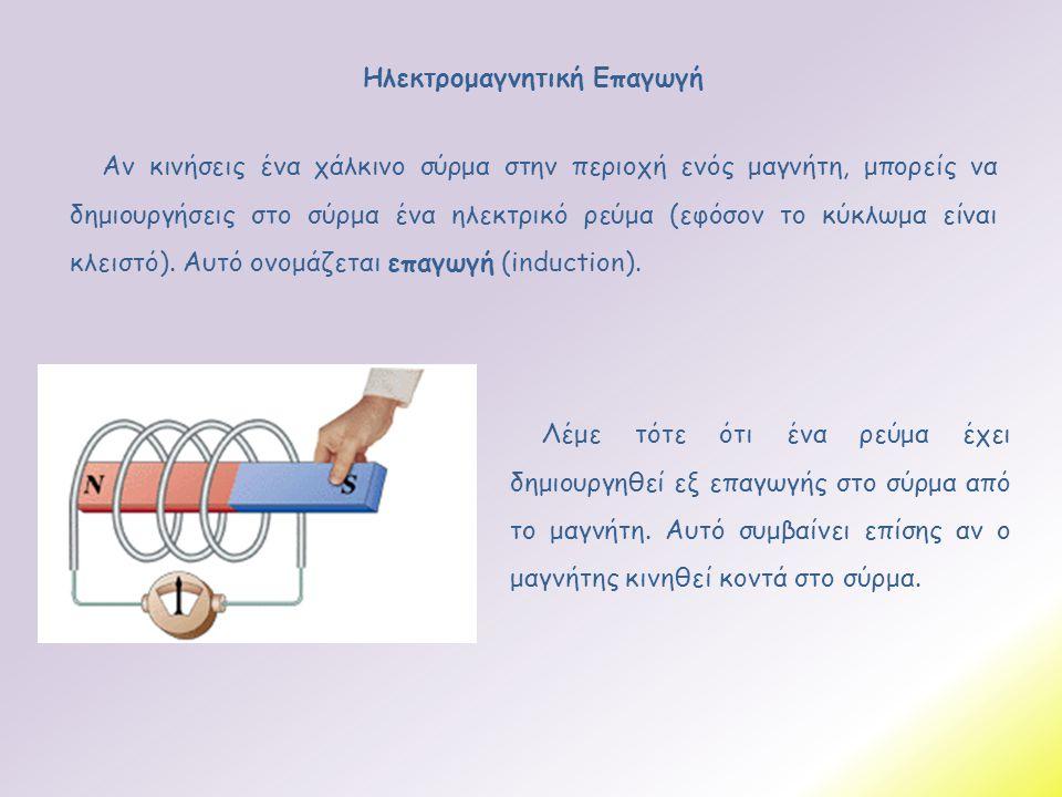 Ηλεκτρομαγνητική Επαγωγή